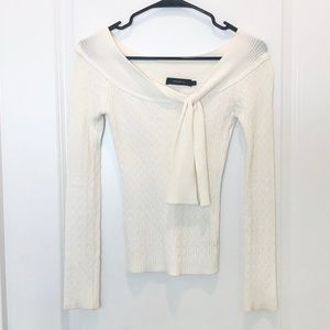 Arden B Fitted Knit Top